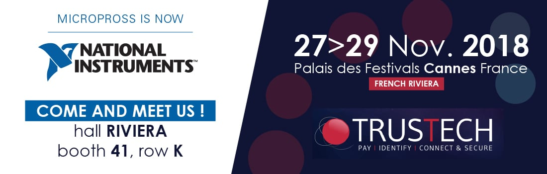 Trustech : 27-29 nov 2018 – Cannes, France